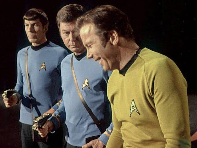 <i>Star Trek</i> 의 3 계절의 장면 뒤에있는 이미지의 보물을 보아라.