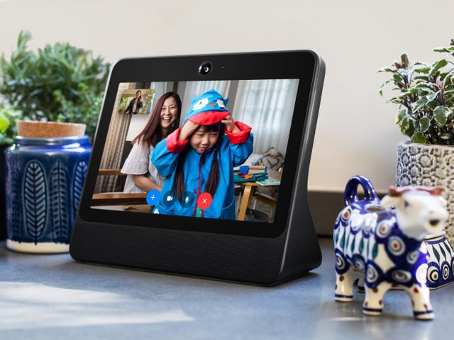 Here's Everything Facebook Says it's Not Tracking With Its Portal Device