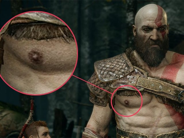 An Ode To Kratos' Nipples