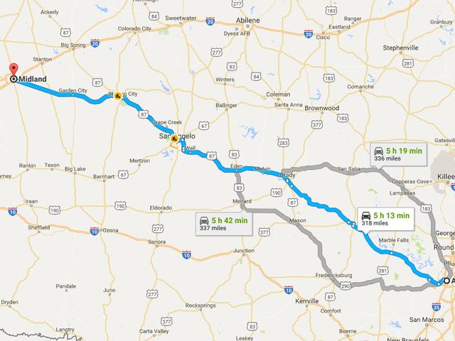 Jadąc jutro do Midland