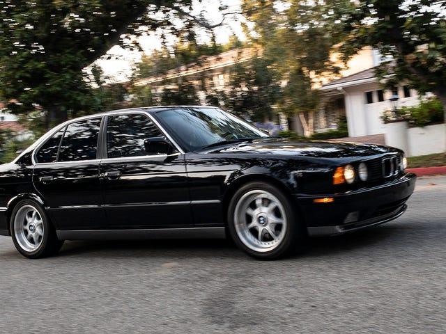 BMW E34 M5는 당신이 기억하는 것보다 더 위대합니다