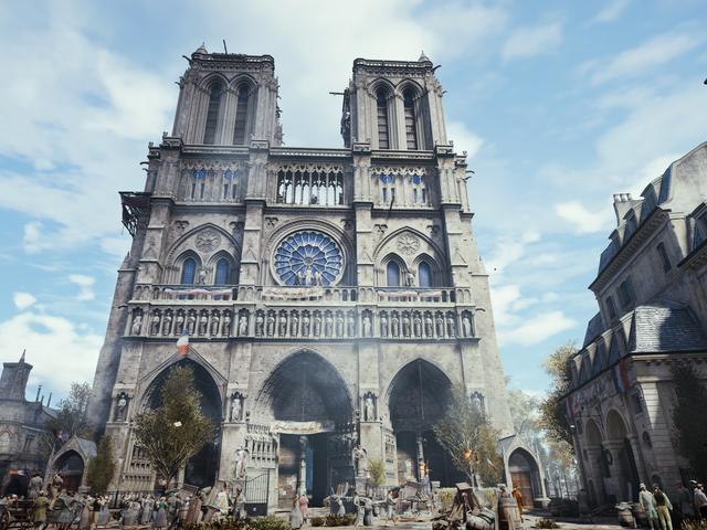 Ubisoft Pledges More Than $500,000 To The Notre-Dame Cathedral Restoration Effort