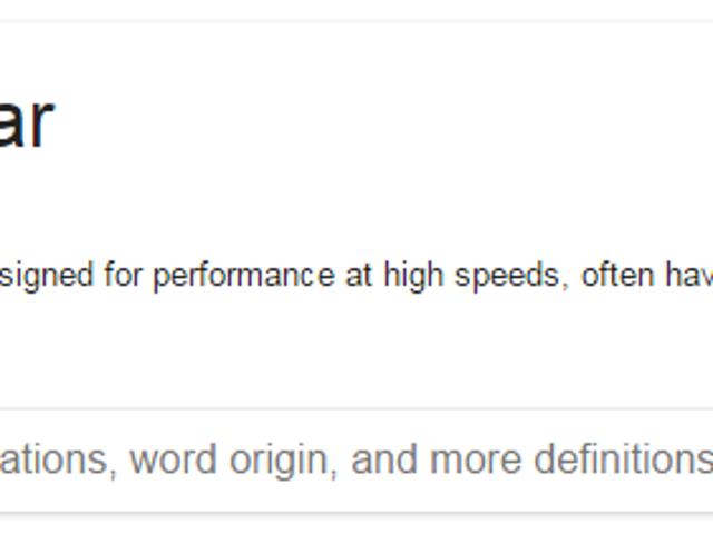 Google'dan çekilen araba tanımları