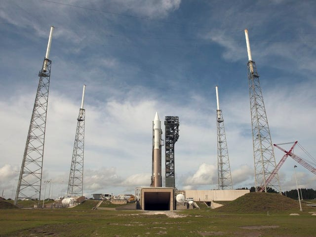 Second Attempt to Launch Cygnus to the Space Station Scrubbed by Wind [UPDATED]
