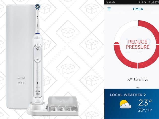 Upgrade to a Smart Toothbrush For the Best Price Ever