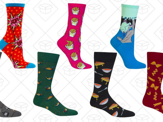 Put Some Fun on Your Feet With Hotsox's June Sale
