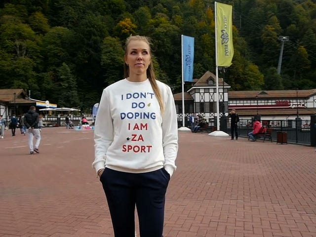 "Russian Athlete Who Wore ""I Don't Do Doping"" Shirt Busted For Doping"