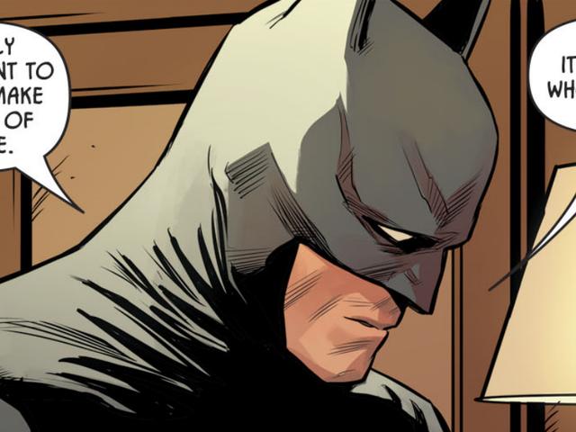 バットマンはいくつかの最高の人の問題を抱えています