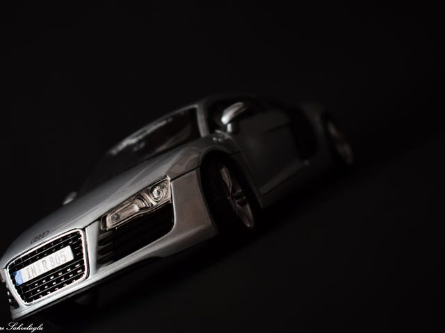 My First 1:18 Diecast (Audi R8)
