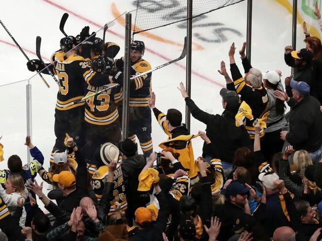 Bruins Beat The Leafs en el Juego 7, porque el tiempo está congelado y la realidad está atrapada en el bucle