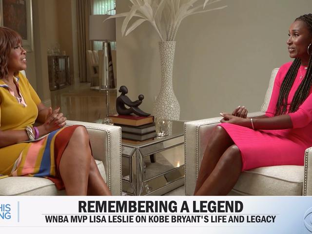 Gayle King le preguntó a Lisa Leslie sobre el caso de violación de Kobe Bryant.  La respuesta reveló cuánto más necesitamos ir