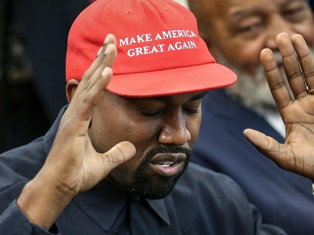 恭喜美國最新,最瘦小的億萬富翁坎耶·韋斯特(Kanye West)