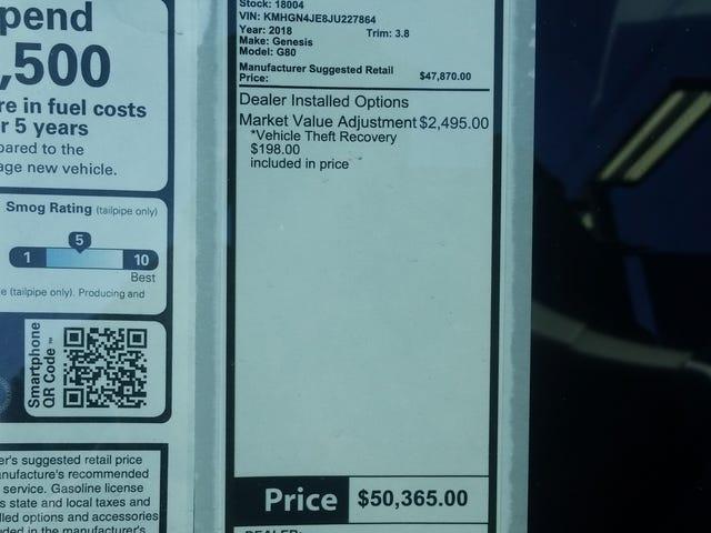 Sérieusement, ajustement du marché de 2 500 $ sur TOUS les Hyundais?!