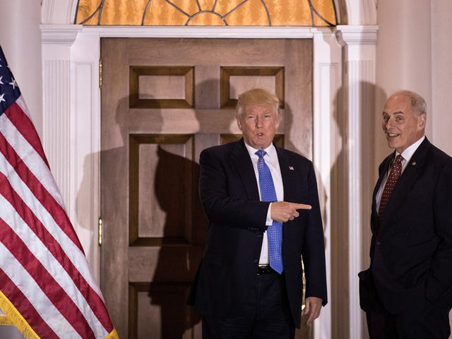 Bekas Ketua Rumah Putih Ketua Staf John Kelly Menumpahkan Teh, Panggilan Dinding Sempadan Penuh 'Sisa Wang'