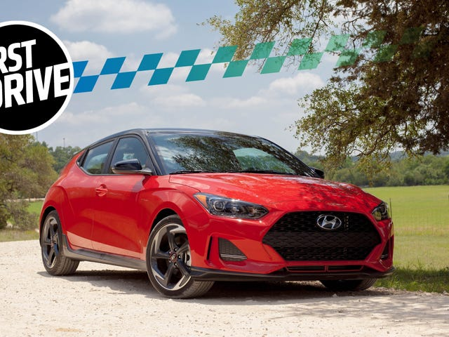 The 2019 Hyundai Veloster Turbo Is A Promising Start For A New Type Of Halo Car