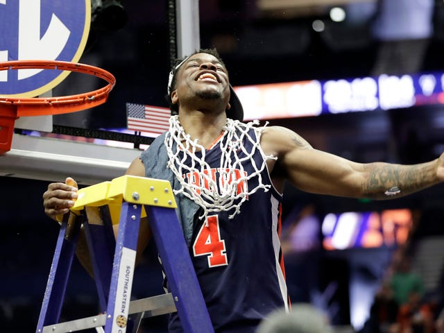 Auburn Buried Tennessee Under A Pile Of Threes And Stole A Win The SEC Tournament