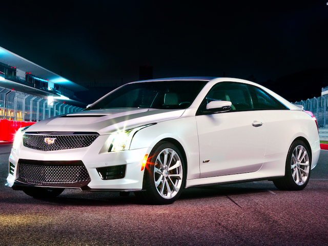 Every 2017 Cadillac ATS-V And CTS-V Comes With Free Performance Driving Training