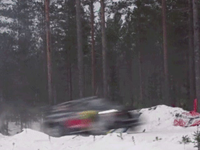 Lose Yourself In The Amazing Vehicular Leaps Of Snow-Covered Rally Sweden