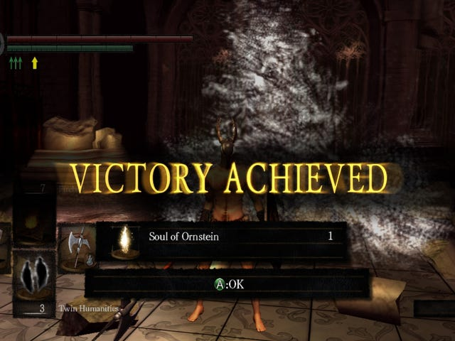 Victory Achieved: My Level 1 Journey Through Dark Souls