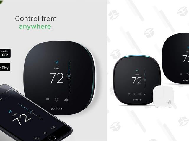 Save a Few Bucks On Ecobee Smart Thermostats, Today Only