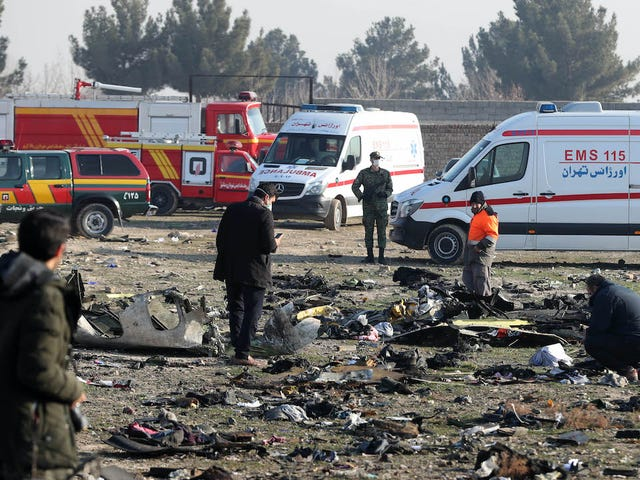 Lầu Năm Góc tin rằng Iran đã bắn hạ chuyến bay của hãng hàng không Ukraine bởi sai lầm: Nhiều báo cáo