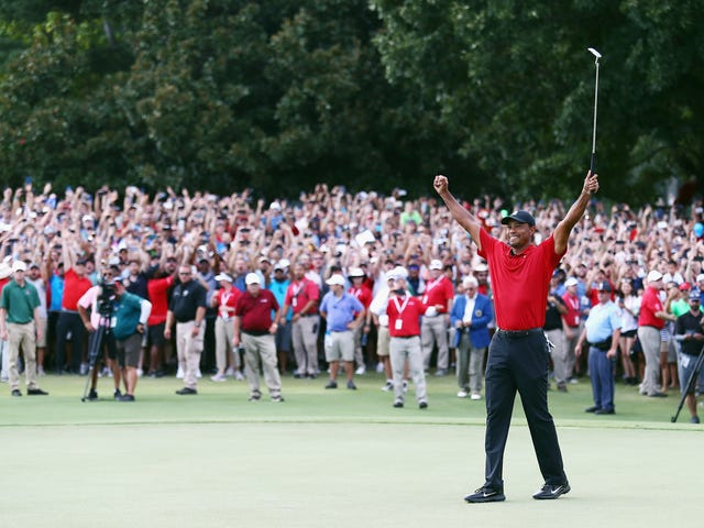 Tiger Woods vinder første turnering siden 2013