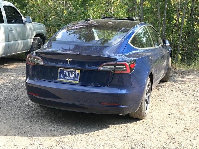 Model 3 spotting