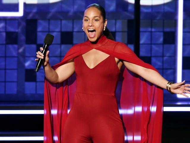 Alicia Keys isännöi Grammyjä toista vuotta peräkkäin