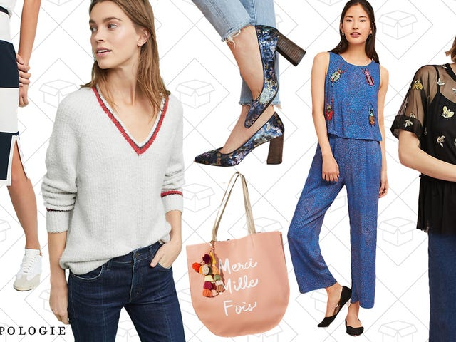 Take 30% Off Sitewide at Anthropologie, Including the Sale Section