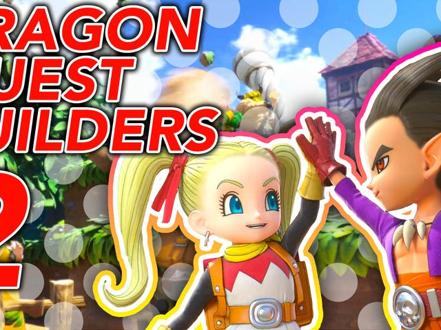 Dragon Quest Builders 2 Is Much More Than A Minecraft Clone