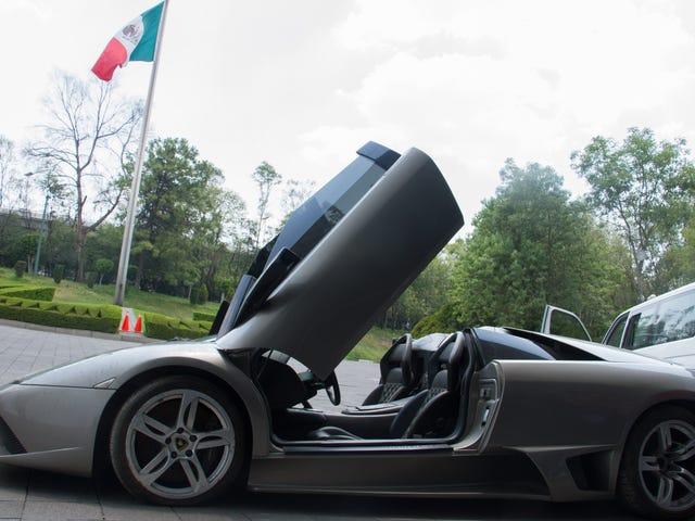 NP or CP: 2007 Lamborghini Murcielago Spyder.