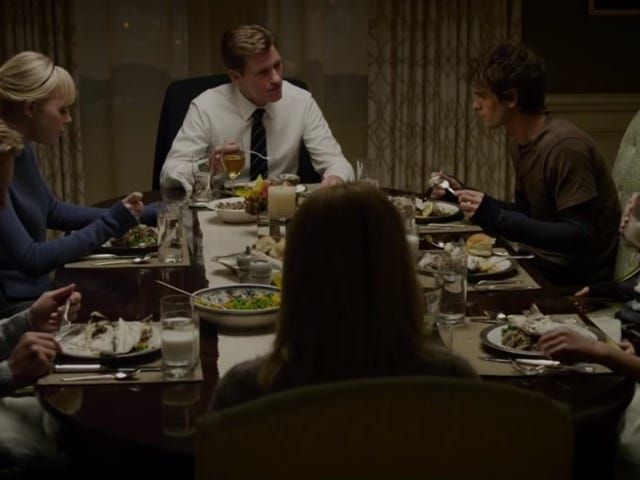 """Read this: Filming The Amazing Spider-Man's fish dinner scene required """"about 90 branzinos"""""""