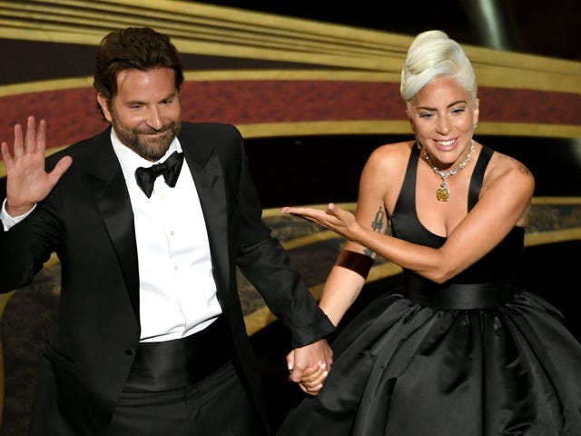Lady Gaga & Bradley Cooper's Hot Oscars Duet Bumped <i>A Star Is Born </i>Back to the Top of the Charts