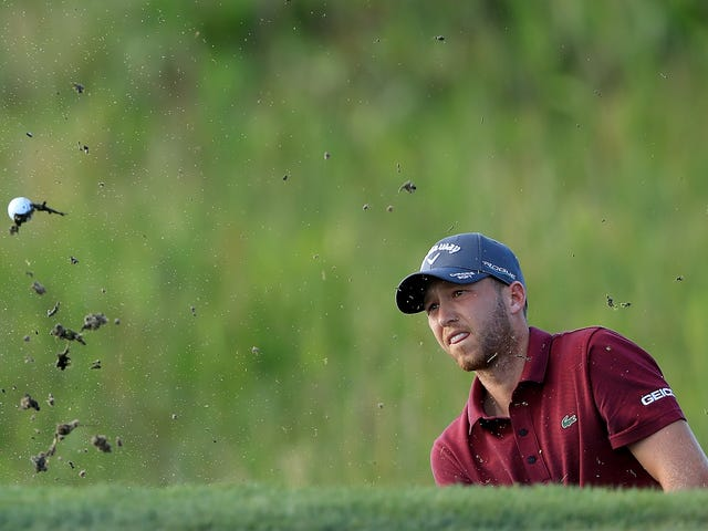 Daniel Berger Is Out Here Hiking And Wading His Way Up The Leaderboard