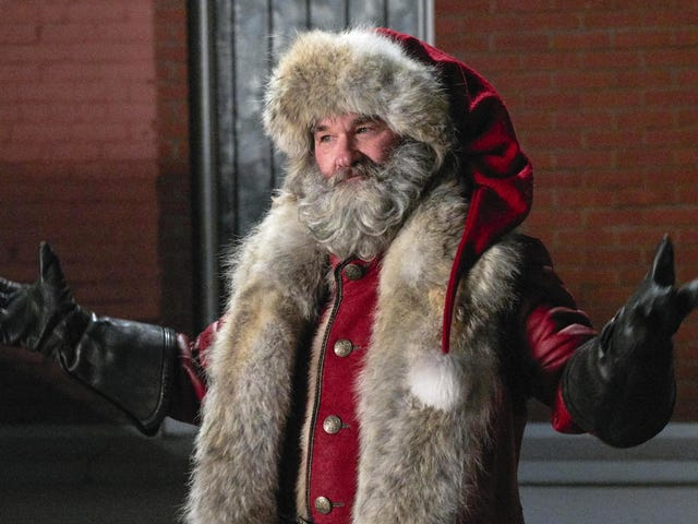 Kurt Russell gives his all as DILF Santa in The Christmas Chronicles