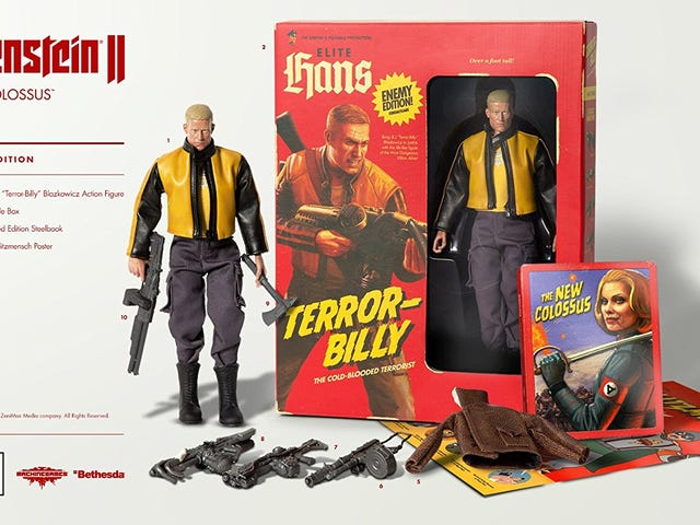 Wolfenstein II Collector's Edition Is Just $35 Today, Complete With an Action Figure