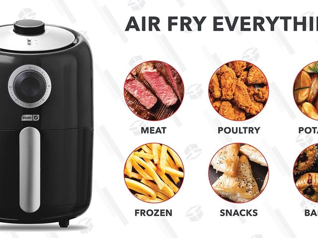 This $40 Air Fryer Is Perfectly Sized For Small Kitchens