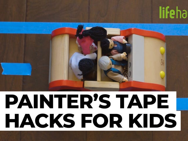 How to Keep Kids Entertained With Painter's Tape
