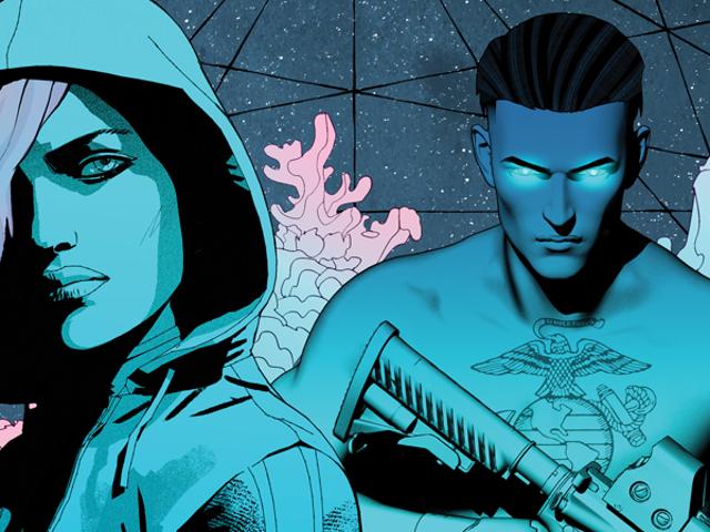 An Exclusive Look Inside Comixology's Surprise New Biopunk Thriller, The Dark