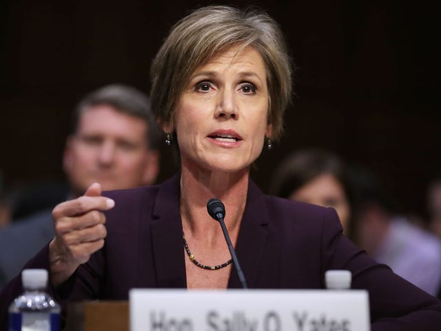 We Have Confirmation That Sally Yates Rules