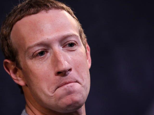 Mark Zuckerberg wordt op de een of andere manier nog onwaarschijnlijker in de jaren 2020, zegt Mark Zuckerberg