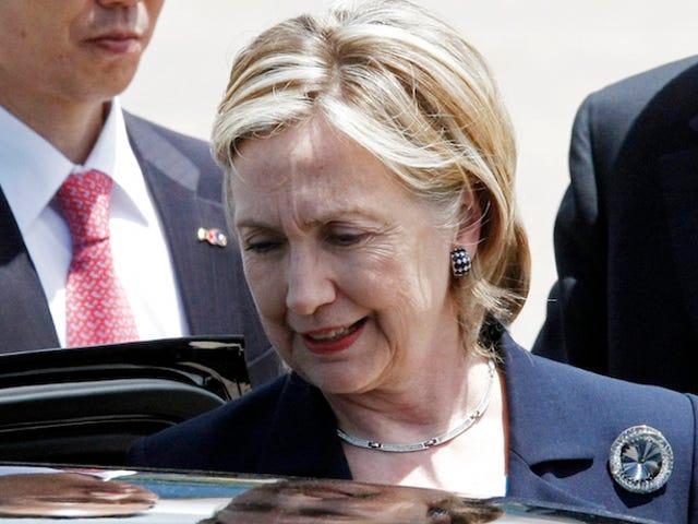 Le jardinier de la Maison-Blanche dit que la dernière voiture conduite par Hillary Clinton était un Class Olds '86
