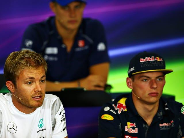 F1-Fahrer wissen nicht, was sie mit ihrem ehemaligen Rennfahrerkollegen machen sollen, der sich in einen Vlogger verwandelt hat