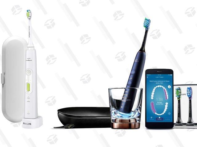 抢购电动牙刷让您的牙医高兴,起价49美元