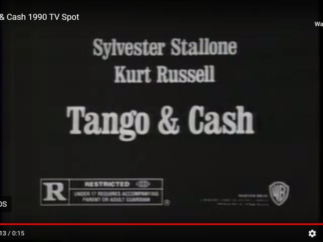 Tango y efectivo (1989)