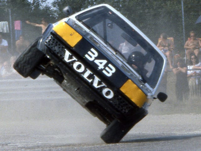 Volvo Once Absolutely Dominated Rallycross
