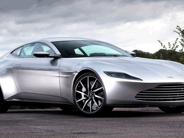 Why The New Aston Martin Looks Just Like The Old James Bond Movie Car