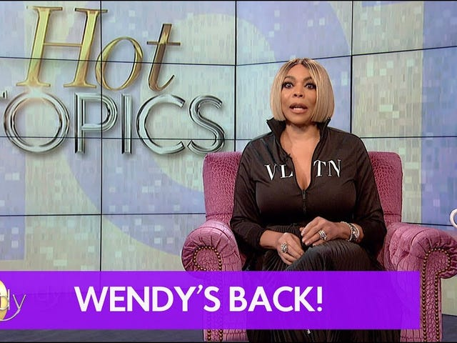 Wendy Williams Is Back!!!