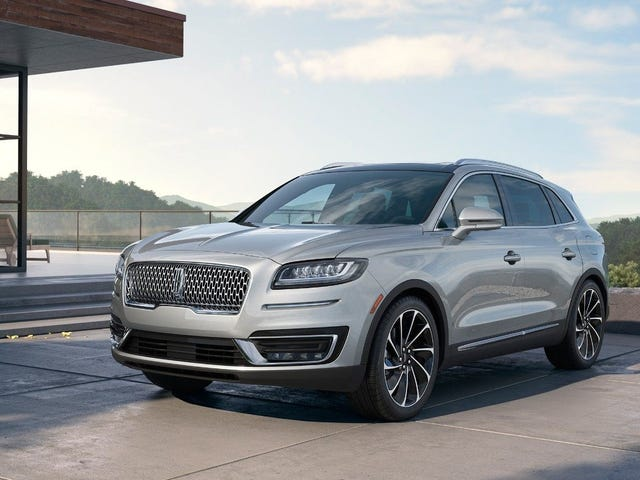 The 2019 Lincoln MK...err Nautilus starts at $40,340