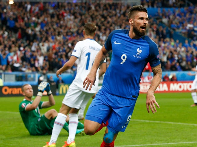 Iceland Turn Back Into A Pumpkin, Give Up Four First-Half Goals To France